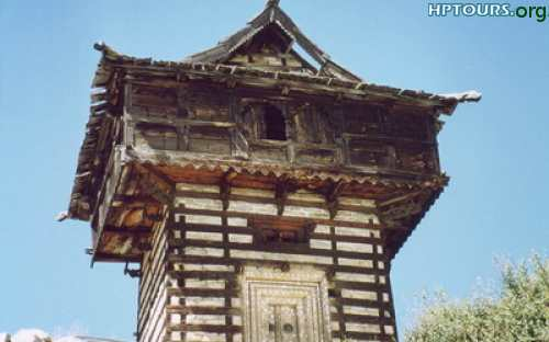 Mathi Temple at Chhitkul Kinnaur